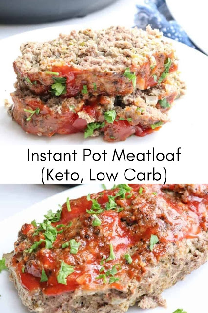 Instant Pot Meatloaf (Keto, Low Carb)