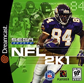 NFL 2K1 Dreamcast cover art