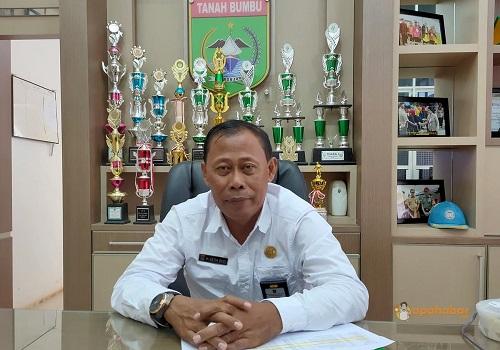Kepala Dinas Kesehatan Tanah Bumbu, H Setia Budi