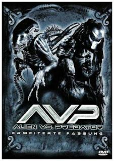 Alien Vs Predator (2004) UNRATED BluRay 480p 300MB Dual Audio ( Hindi - English ) MKV