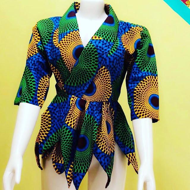 2020 Fashionable Ankara Dress Styles