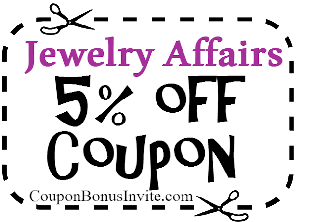 Jewelry Affairs Coupon Code 2017, Jewelry Affairs Promo Codes, Jewelry Affairs Free Shipping Coupons