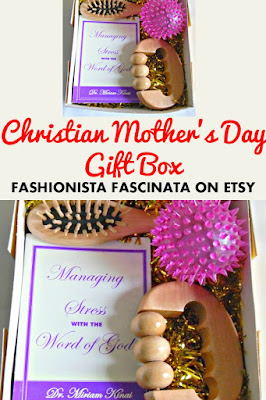 Christian Mothers Day Gift Box for Stress Relief from Fashionista Fascinata on Etsy
