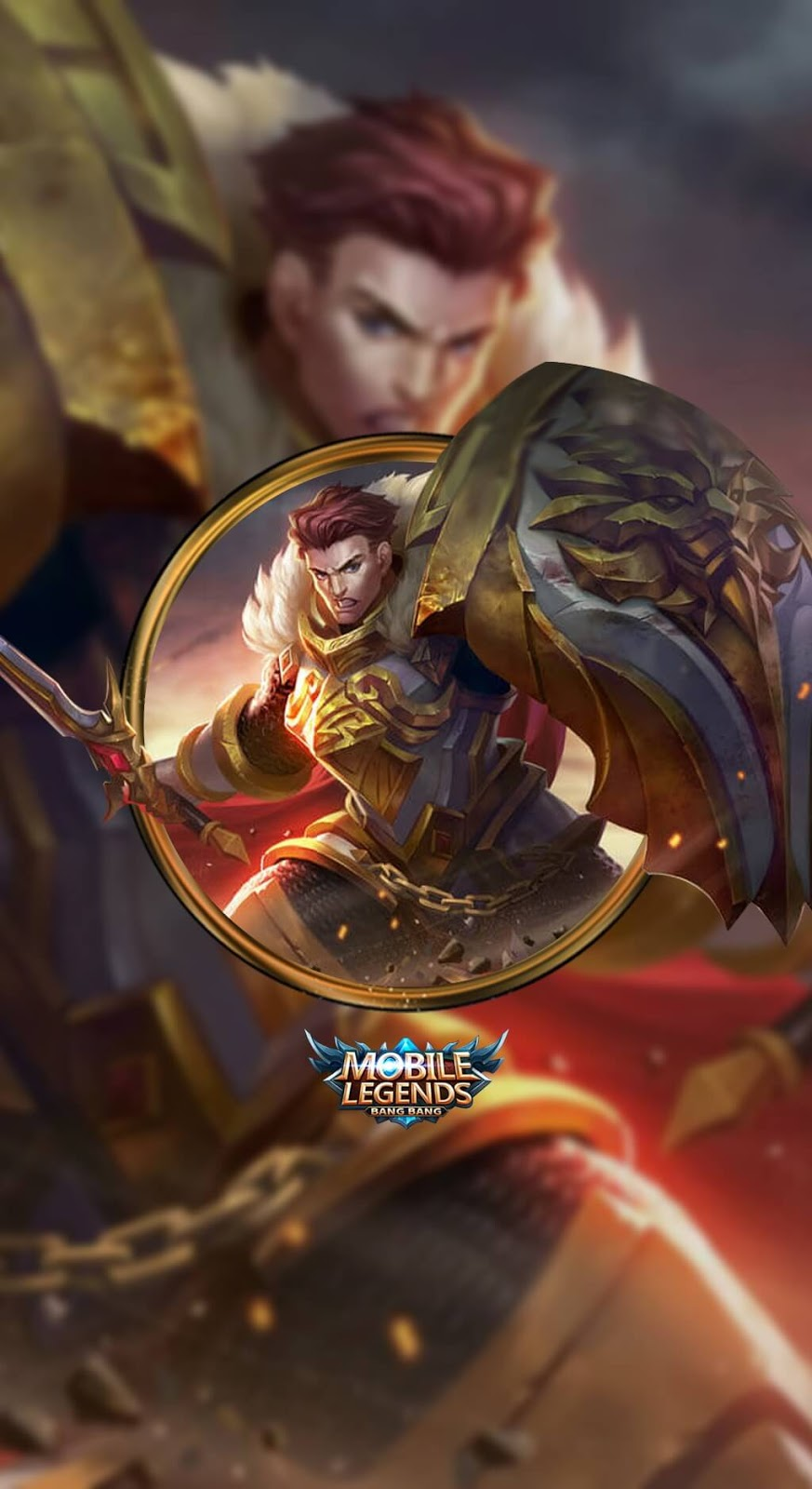 Tigreal Warrior Of Dawn Old Skin Mobile Legends HD for Mobile