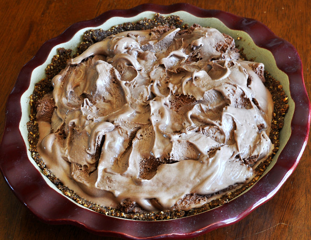 Image: Chocolate Ice Cream Pie With Almond Crust, by Carissa Rogers on Flickr