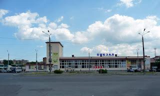 Черкассы. Железнодорожный вокзал
