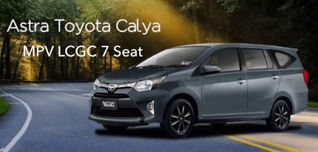 Mobil Low MPV Toyota Calya