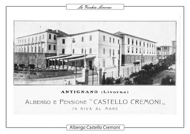 Antignano Castello E Villa Via Dei Bagni