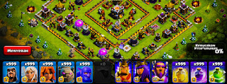 Cara Membuat Pasukan dan Spell Clash Of Clans Menjadi 999