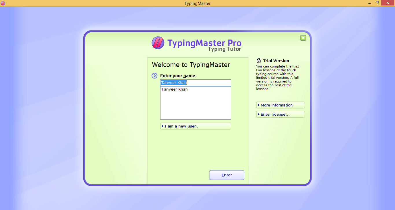 HOW TO USE TYPING MASTER PRO WITH SERIAL KEY