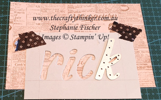 #thecraftythinker  #stampinup  #cardmaking  #masculinecard , Masculine Card, Hand Lettered Prose, Well Written, Stampin' Up Australia Demonstrator, Sydney NSW