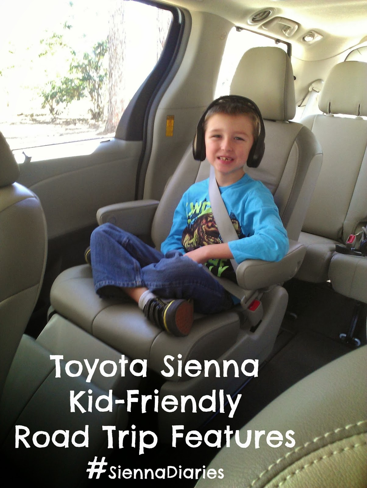 Kid-friendly features of the Toyota Sienna. #SiennaDiaries