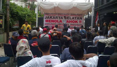 Aliansi masyarakat Jakarta Selatan tolak Ahok