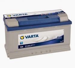 varta blue dinamik serisi oto aküsü fiyatları 12 volt 95 amper