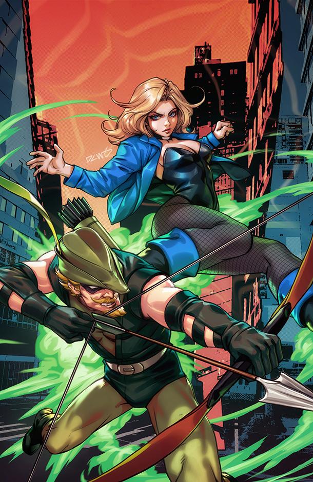 Green Arrow - Cover 3