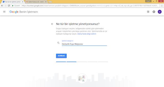 Google Benim İşletmem Kaydı Nasıl Yapılır?