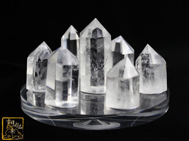 白水晶柱七星陣