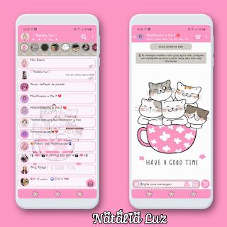 Cute Cats Theme For YOWhatsApp & KM WhatsApp By Natalia
