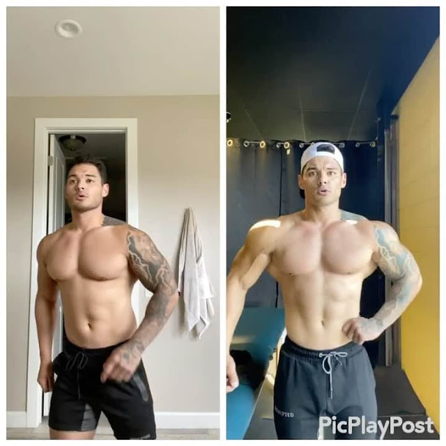 jeremy buendia 4 weeks transformation
