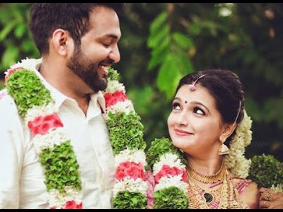 Aravind-Tollywood-actress Saranya-wedding