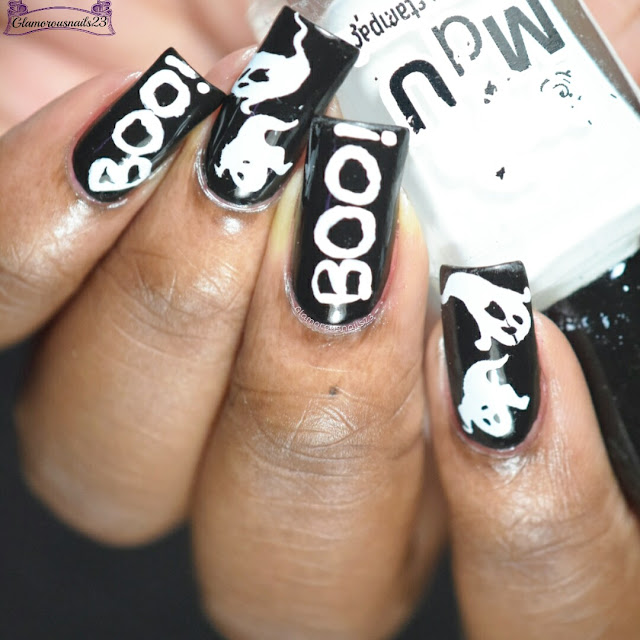 Ghosts Nail Art
