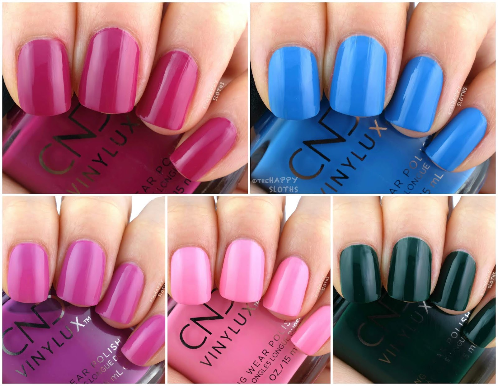 CND   Summer 2019 Prismatic Collection: Review and Swatches