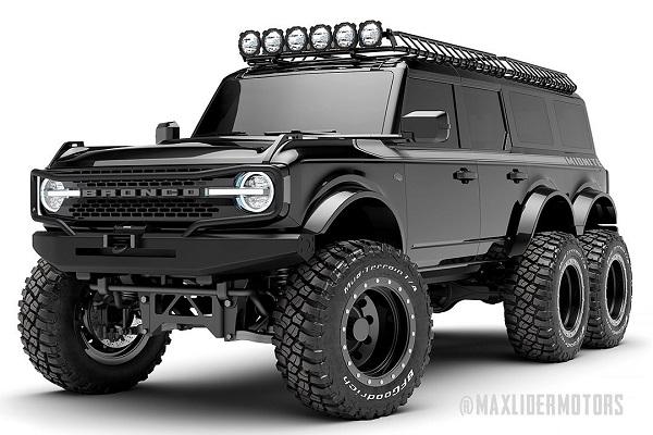 Ford Bronco 6x6 de Maxlider Brothers Customs