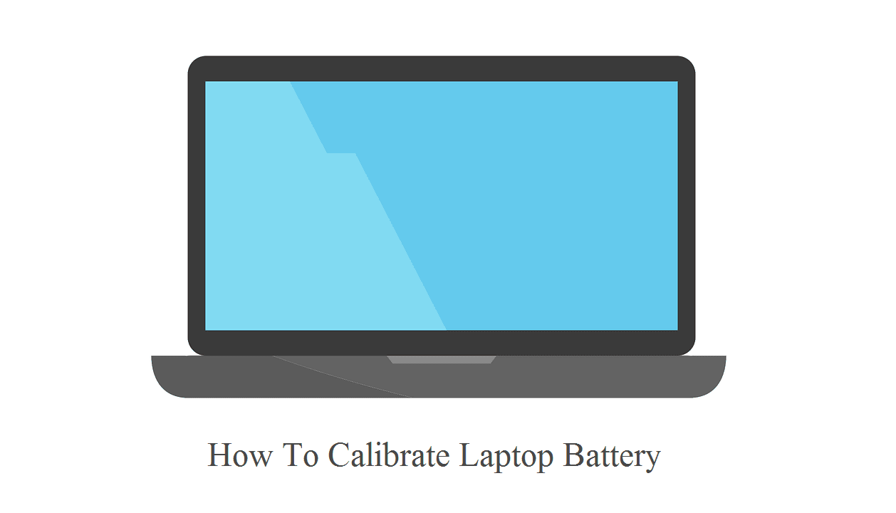cara kalibrasi baterai notebook