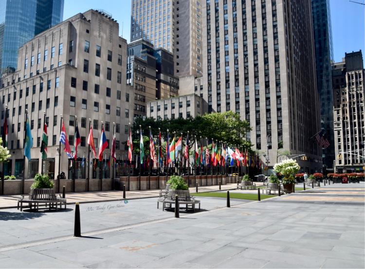 New York City is deserted due to the pandemic   Ms. Toody Goo Shoes #Coronavirus