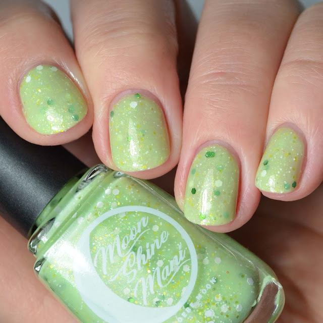 key lime nail polish swatch
