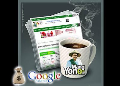 Ngopi pagi... Pembayaran Google Adsense menggunakani Bank BRI