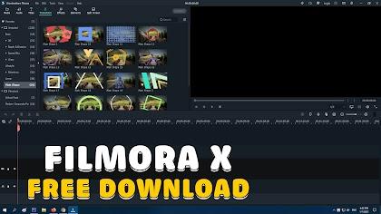 Wondershare Filmora X 10.0.10.20 Free Download
