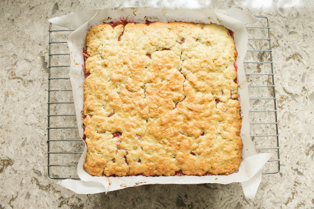 """Food Lust People Love"""" Icelandic Happy Marriage Cake is traditionally made with a rhubarb jam filling – purists take note – everyone else can use their favorite jam in the middle."""