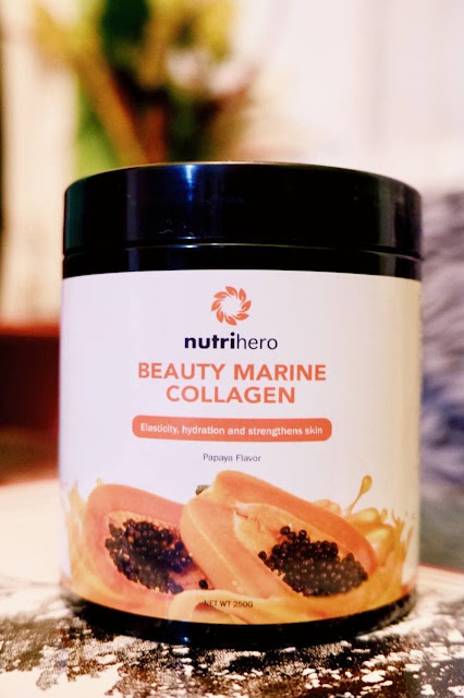 Reduce Ageing Appearance with NutriHero Beauty Marine Collagen