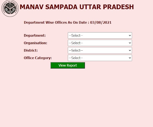 Department Wise Office List