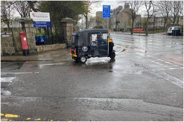 Nigerians reacts as Keke Napep was spotted in Scotland