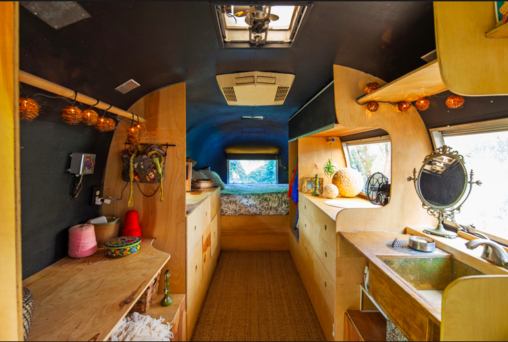 la fabrique d co combi van camping car et caravane inspirations d co pour un abri nomade. Black Bedroom Furniture Sets. Home Design Ideas