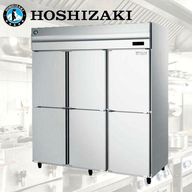 Tủ đông inox 6 cánh Hoshizaki HF-188MA-S