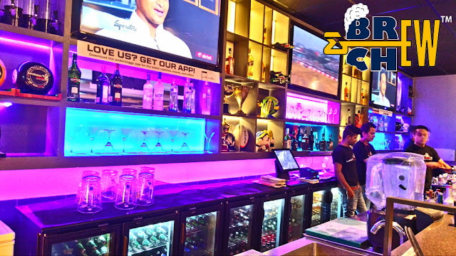 Underdoggs Sports Bar and Grill Bar Section | Bangalore