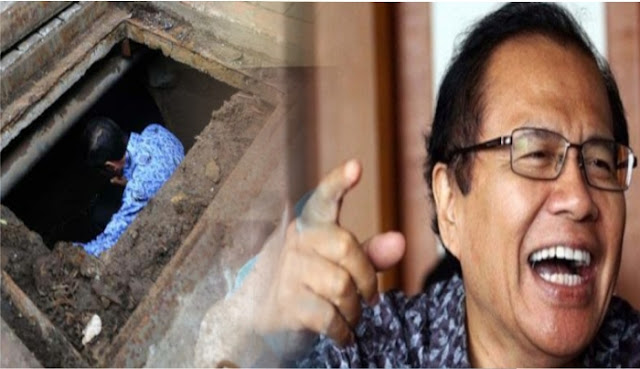 Singgung Pemimpin Masuk Gorong-gorong, Rizal Ramli: Gayanya Doang Merakyat, Kebijakan Tidak