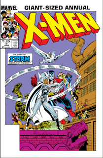 Cover to X-Men Annual #9
