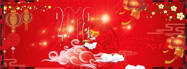 PSD Ảnh Bìa FB Tết Chúc Mừng Năm Mới