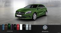 Mercedes A200 2016 màu Xanh lục Elbaite 175