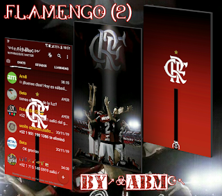Flamengo 2 Theme For YOWhatsApp & Fouad WhatsApp By ABM