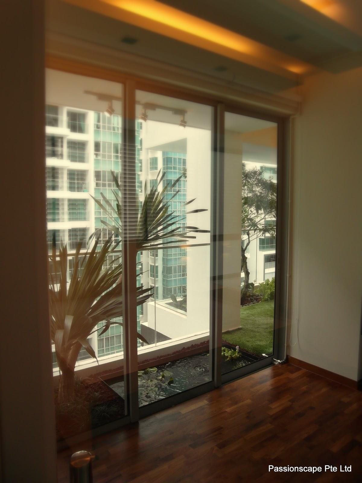 Singapore Landscape Design: Balcony In-style 1