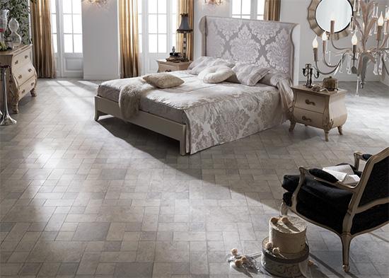 不同風格紋路的超耐磨地板,為居家增添更多色彩。