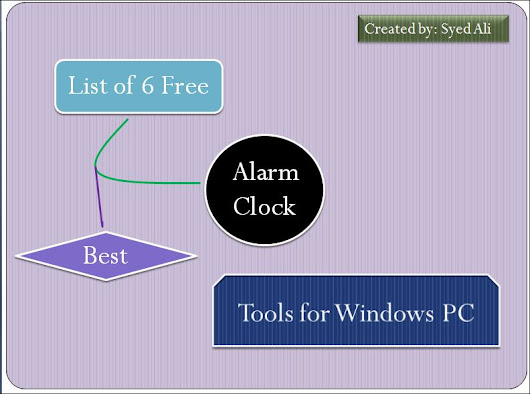 List of 5 Free Best Alarm Clock Tools for Windows PC