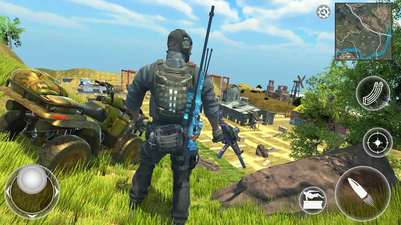 لعبة Free survival: fire battlegrounds