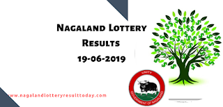 Nagaland State Lottery 19 june