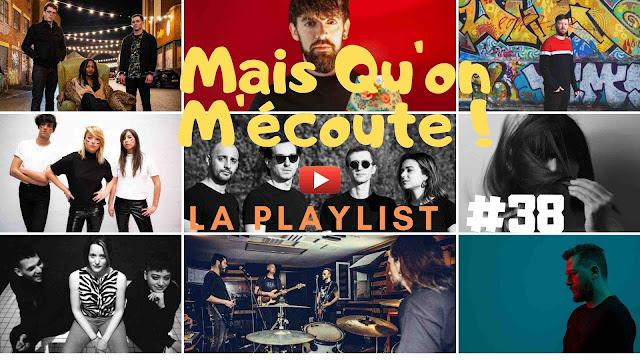 Mais qu'on m'écoute ! est la playlist hebdo des artistes chroniqués sur LACN. Enjoy !